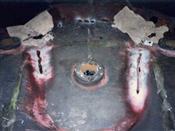 鋳鉄・鋳物の溶接修理・補修工事前